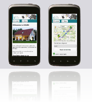 Immobilienseite, smartphone-optimiert